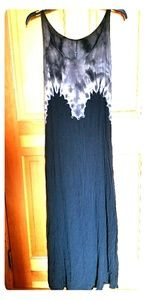 Dresses & Skirts - BLACK OMBRE MAXI DRESS